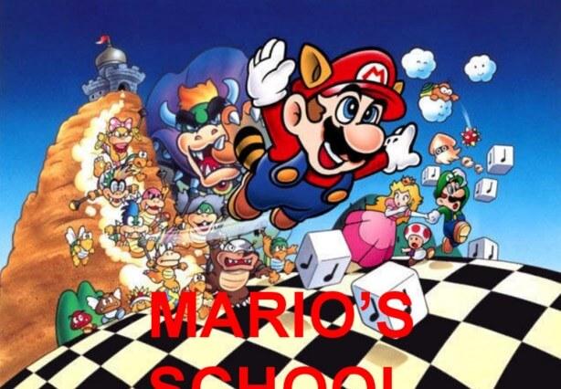 Simulador de Videojuego Rally de Conocimientos Mario Bros