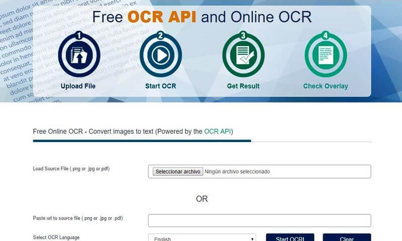 Extrae texto de tus imagenes o PDF protegidos en línea y gratis
