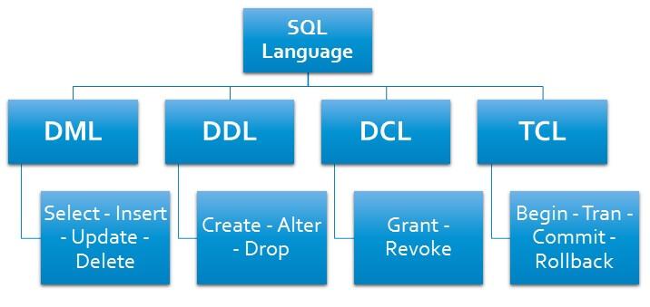 SENTENCIAS SQL (DDL, DML, DCL Y TCL)