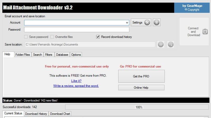 Descarga todo tipo de archivos adjuntos de Hotmail Outlook Gmail Yahoo y muchos más…