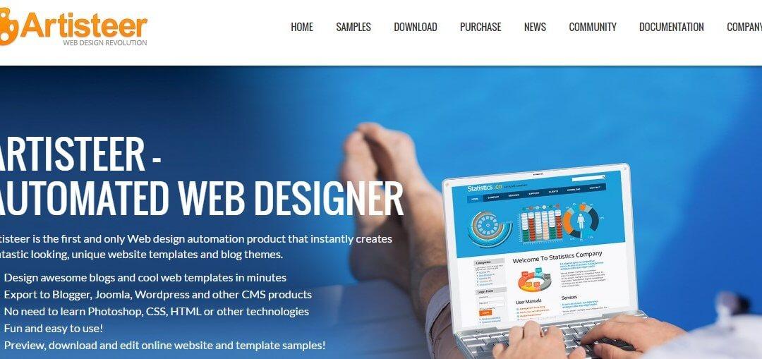 Crear un sitio web con Artisteer